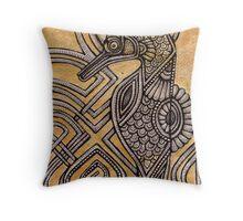 Illuminated Seahorse Throw Pillow