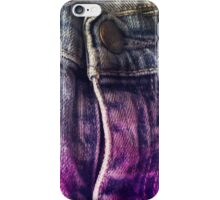 Faded Jeans iPhone Case/Skin