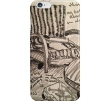 My Chair iPhone Case/Skin