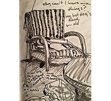 My Chair Photographic Print