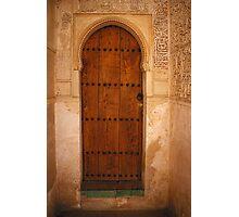 Nook Door Photographic Print