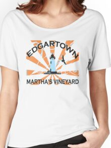 Edgartown - Martha's Vineyards. Women's Relaxed Fit T-Shirt