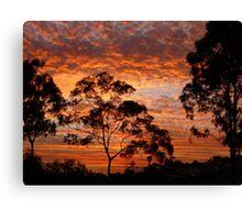 Tweed River Sunset Canvas Print