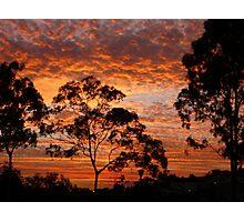 Tweed River Sunset Photographic Print