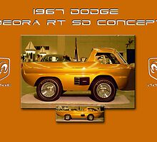 1967 Dodge Deora RT SD Concept by Peter Kennelly