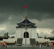 Chiang Kai-Shek with Prone Inflateable Dolls by DaniSpinks