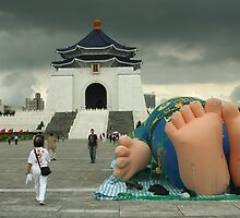 Chiang Kai-Shek with Doll's Feet by DaniSpinks