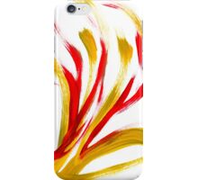 Flame Abstract Painting iPhone Case/Skin