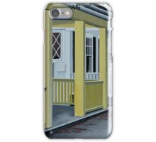 SUMMER IN THE SUBURBS iPhone Case/Skin