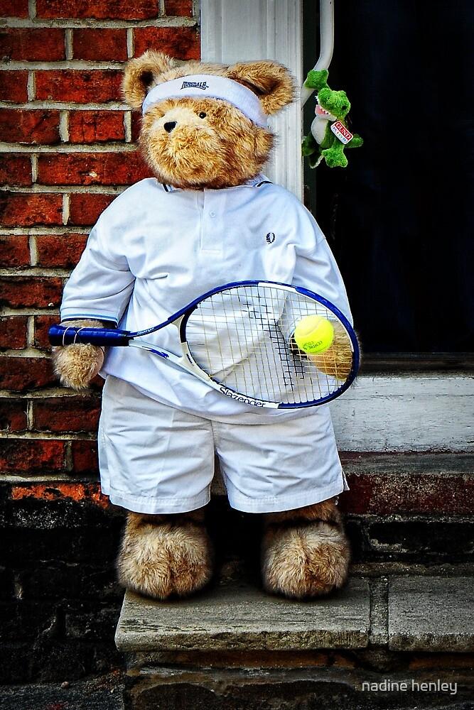 Wimbledon bear by nadine henley