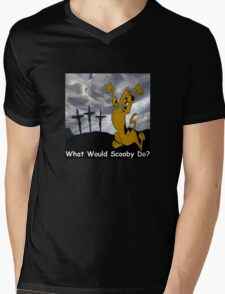 What Would Scooby Do? Mens V-Neck T-Shirt