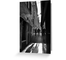 A Stroll in Venice Greeting Card