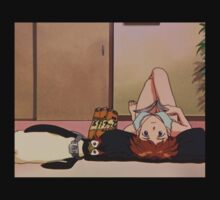 Neon Genesis Evangelion - Asuka and Pen Pen - 2015 1080p Blu-Ray Cleaned Upscales T-Shirt