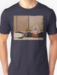Neon Genesis Evangelion - Asuka and Pen Pen - 2015 1080p Blu-Ray Cleaned Upscales Unisex T-Shirt