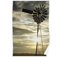 Sunset in the Country Poster
