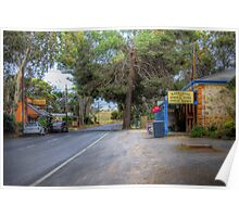 Main Street - Kanmantoo, The Adelaide Hills, South Australia Poster