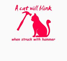Cat Will Blink Unisex T-Shirt