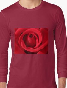 My Love is Like a Red Rose Long Sleeve T-Shirt
