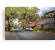 Don't Blink! - Main Street, Kanmantoo, The Adelaide Hills Canvas Print