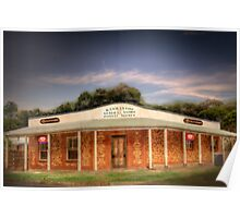 Life Line - General Store, Kanmantoo, The Adelaide Hills Poster