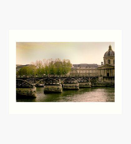 Seine of Old Art Print