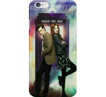 11th Doctor and Amelia Pond iPhone Case/Skin