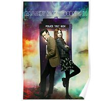 11th Doctor and Amelia Pond Poster