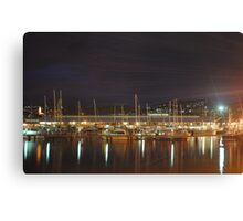 Hobart Waterfront Canvas Print