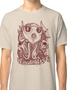 Cthulhu -Corporate Madness- cat version Classic T-Shirt