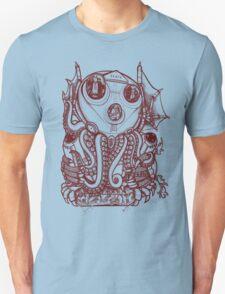 Cthulhu -Corporate Madness- cat version T-Shirt