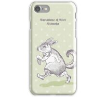 Variations of Alice - Viscacha [Green] iPhone Case/Skin