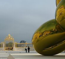 Jeff Koons at Chateau de Versailles by DaniSpinks