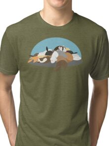 Sleeping Slinkies Tri-blend T-Shirt