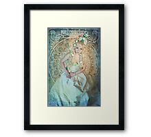 ODE TO MUCHA Framed Print