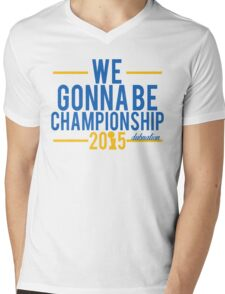 We Gonna Be Championship - Dubnation Mens V-Neck T-Shirt