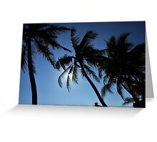 Coconut Shelter Greeting Card
