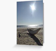 Hikkaduwa Beach Greeting Card