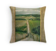 Road to NoWhere Else Throw Pillow