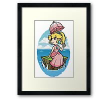 Wind Waker Princess Peach Framed Print