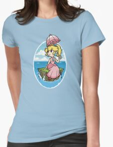 Wind Waker Princess Peach Womens Fitted T-Shirt
