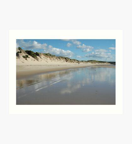 Dune Wall (Beechford) Art Print