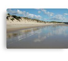 Dune Wall (Beechford) Canvas Print