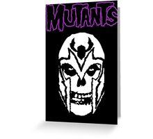 Mutants Greeting Card