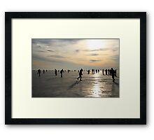Ice Skating Framed Print