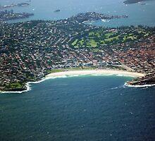 Bondi Beach from the Air by TonyCrehan