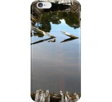 Ruins of a Huon Pine Barge iPhone Case/Skin