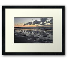 Clouds Above And Below Framed Print