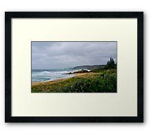 Bermagui, NSW, severe storm. Framed Print