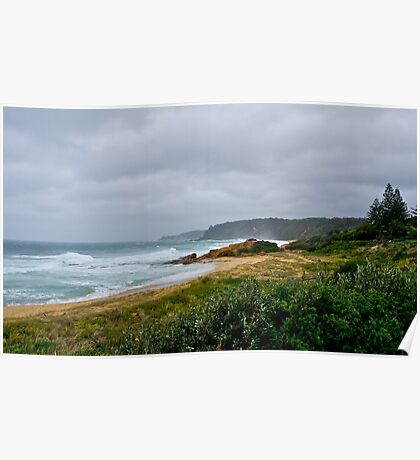 Bermagui, NSW, severe storm. Poster