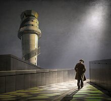 A path to somewhere by Adrian Donoghue